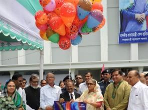 PM inaugurates new establishments at BSMRAU